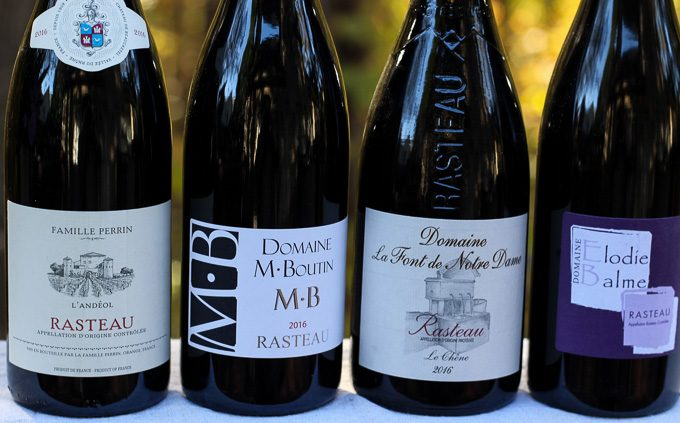 Rhône Rasteau Wines