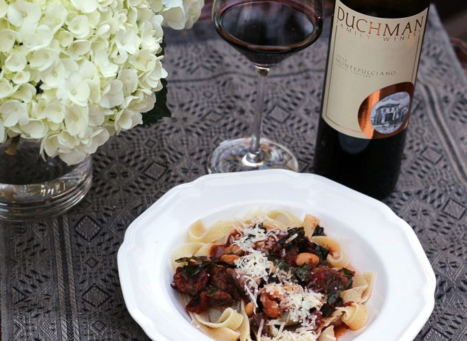 Slow Cooker Short Rib Ragù with Texas Montepulciano