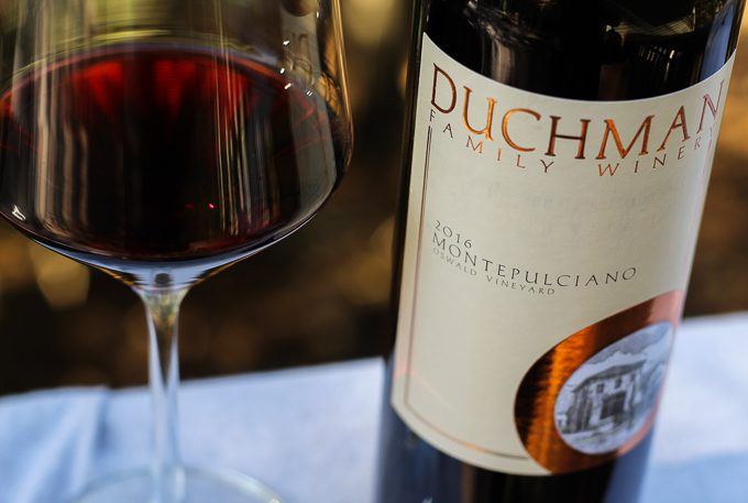 2016 Duchman Montepulciano
