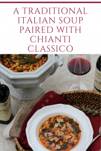A Traditional Italian Soup Paired with Chianti Classico