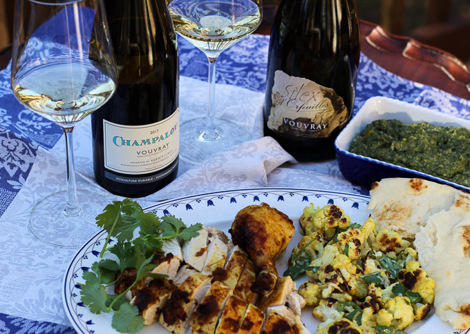 Vouvray with an Indian-Inspired Dinner