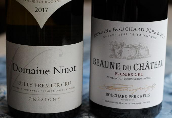 Premier Cru Burgundy Wines