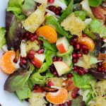 Winter Salad with Pomegranates