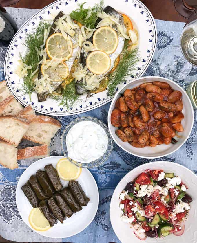 Greek feast