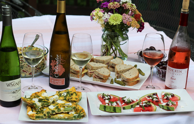 Picnic Fare Paired with Finger Lakes Wines