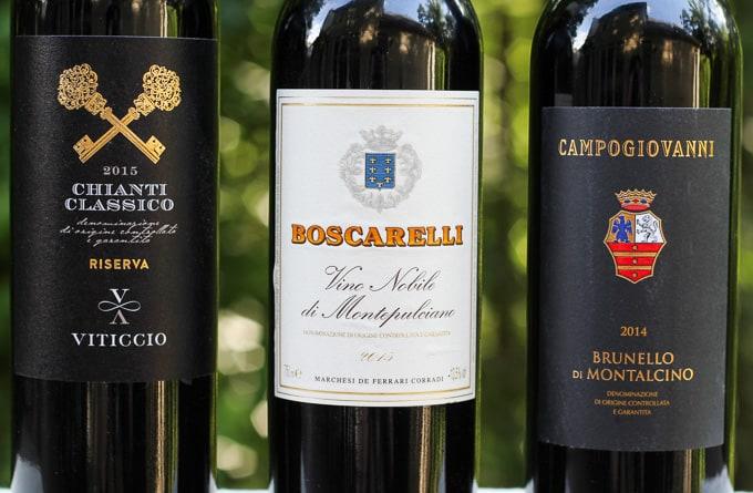 Tuscan Sangiovese