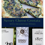 Savory Cheese Crostata Paired with Moldovan Wines