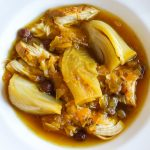 Persian Saffron and Fennel Chicken Stew