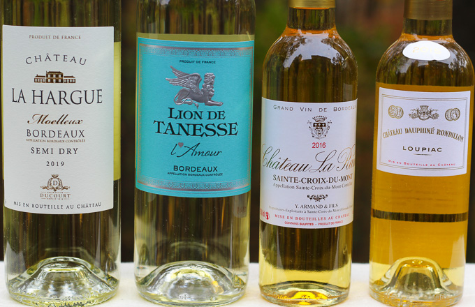 Golden Sweet Bordeaux Wines
