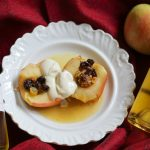 Baked Apples Paired with Golden Sweet Bordeaux Wines