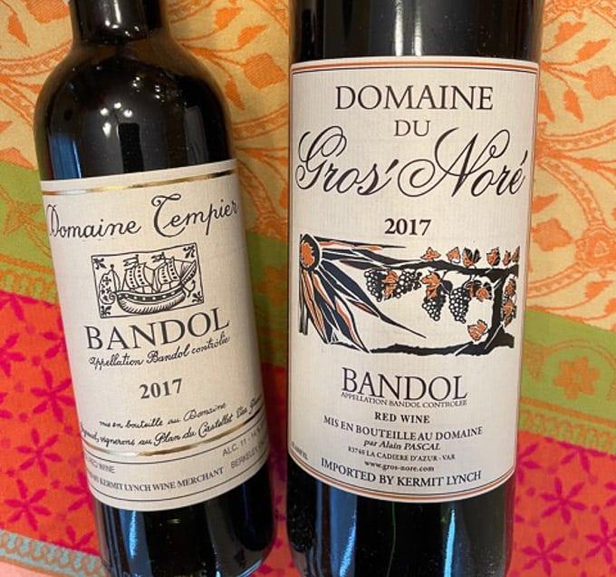 Provence Bandol Rouge Wines