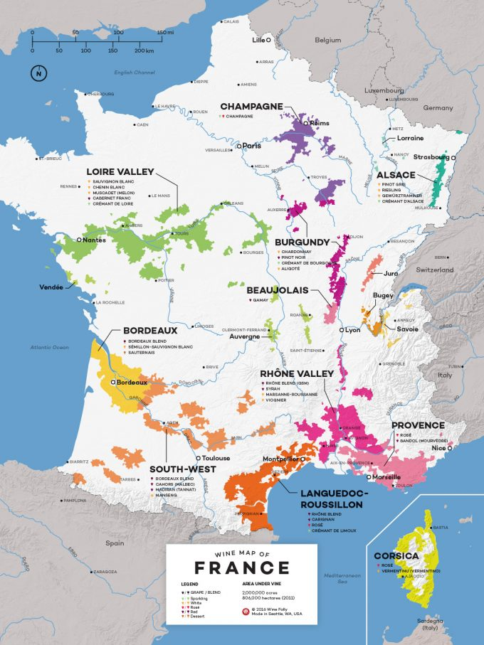 French wine growing regions