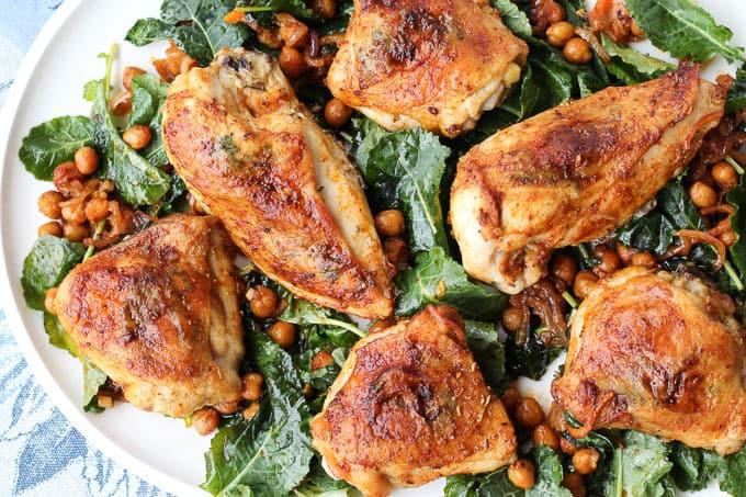 Sheet Pan Smoked Paprika Chicken