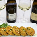 Zucchini Cornmeal Cakes Paired with Sancerre and Pouilly Fumé
