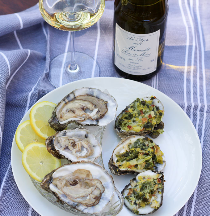 Muscadet Sèvre et Maine Paired with Oysters