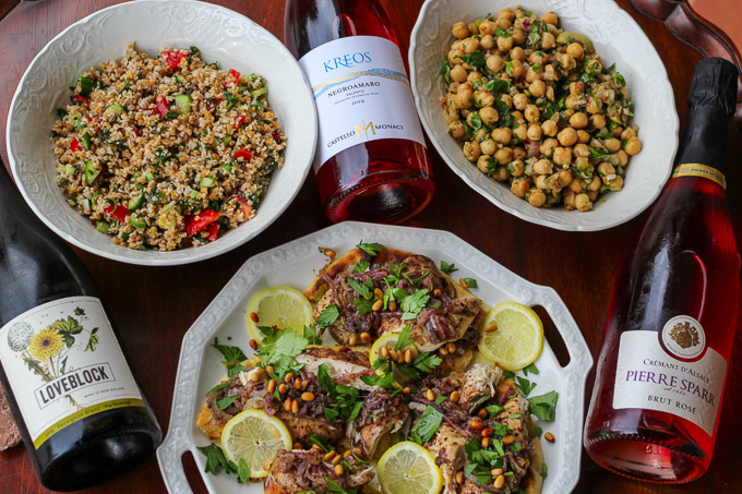 Pairing Middle Eastern Flavors with Wine