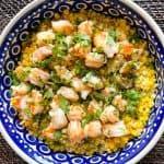 Sweet Corn Buttered Shrimp