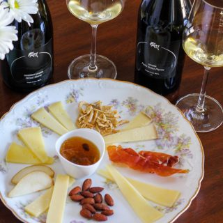 Jura Wines Paired with a Cheese Plate