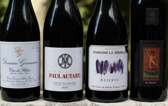 Côte du Rhône Red wines