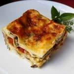 Mushroom & Leek Lasagna